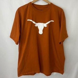 UT Texas Longhorns White Logo SS T-Shirt Sz 2XL